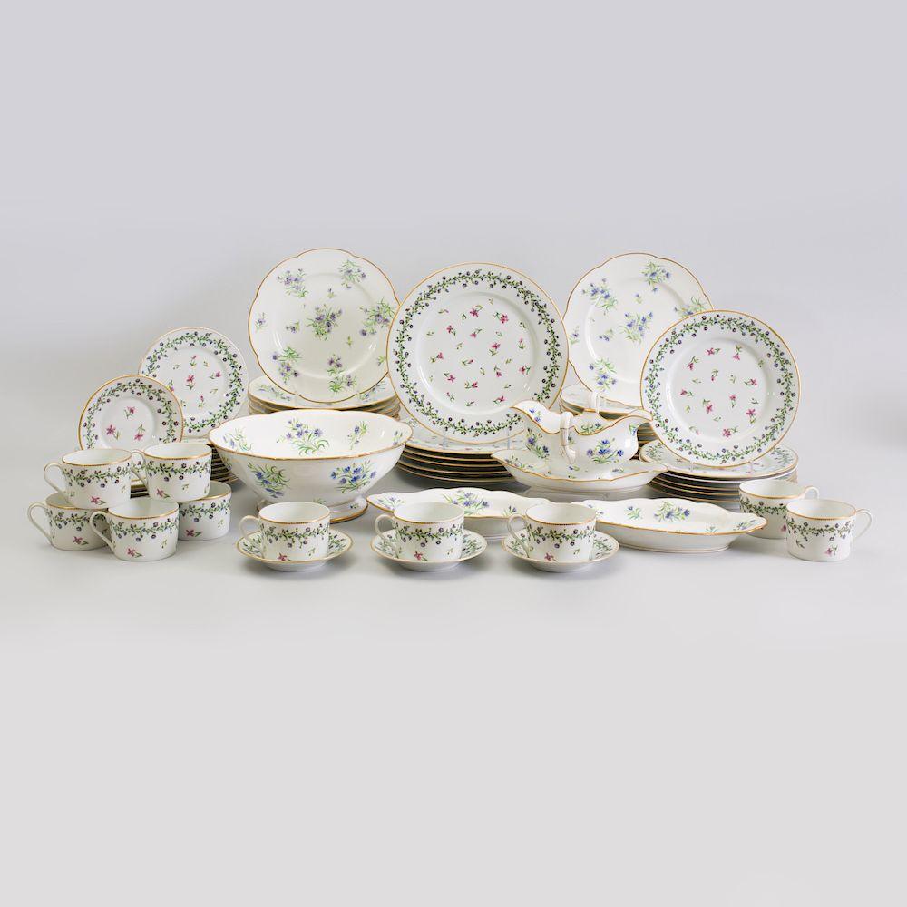 G D A  Limoges Porcelain Part Dinner Service, in the