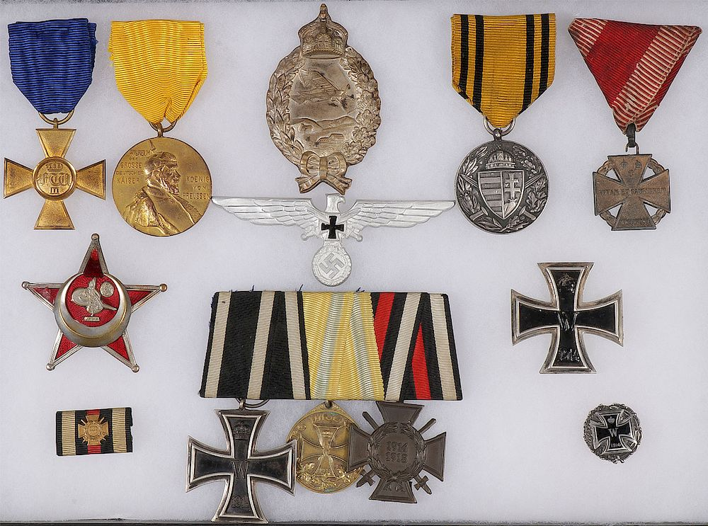GERMAN, PRUSSIAN, AUSTRIAN MEDALS & BADGES by Jackson's