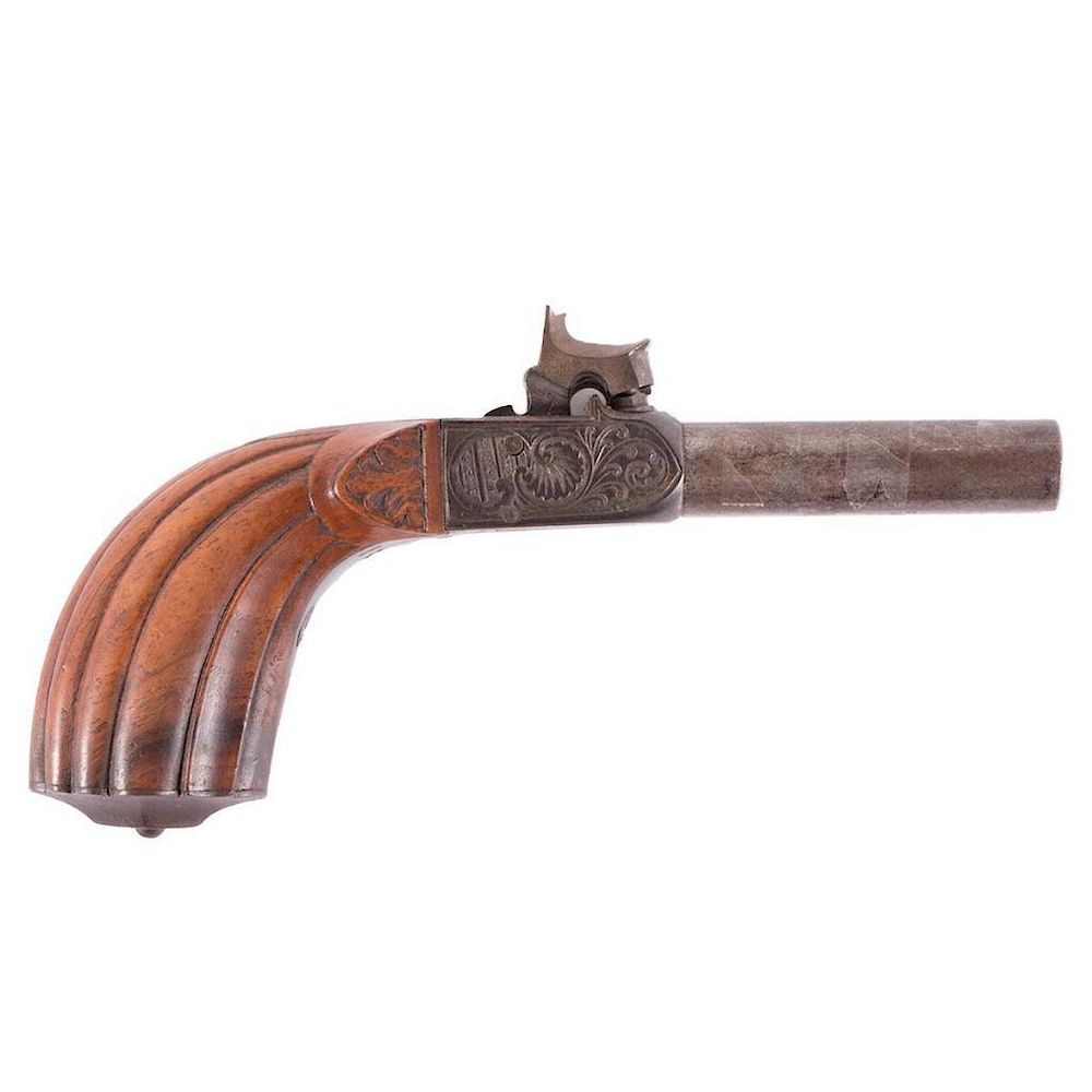 A mid 19th century double barreled derringer by Turner Auctions +