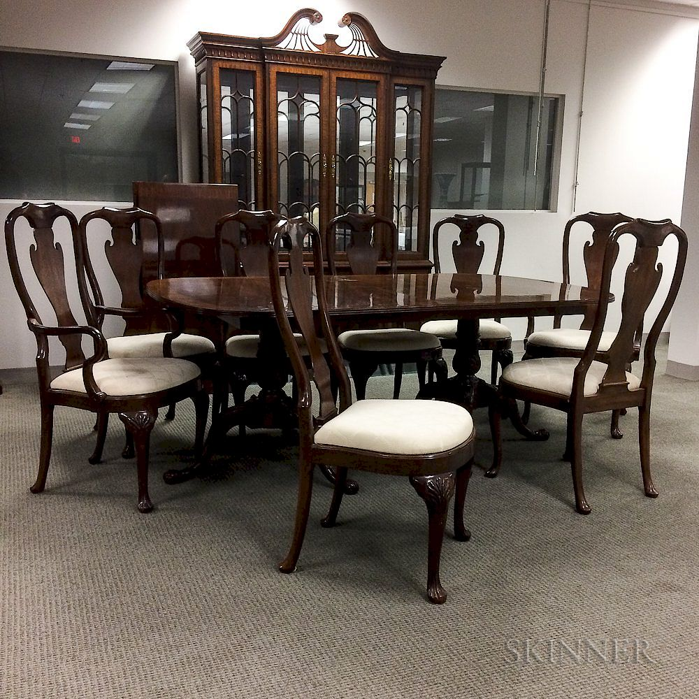Heirloom Heritage Colonial-style Mahogany Dining Room Set by ...