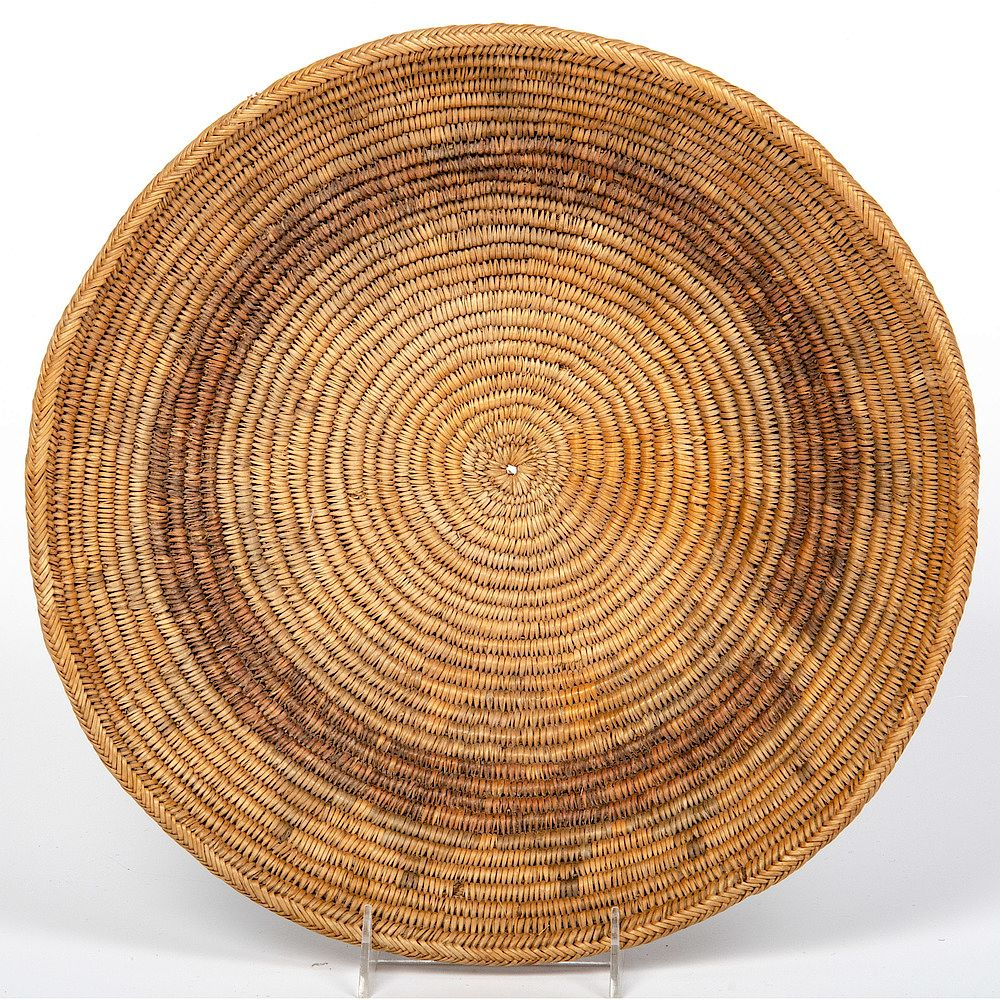 Navajo Wedding Basket From The Harriet And Seymour Koenig