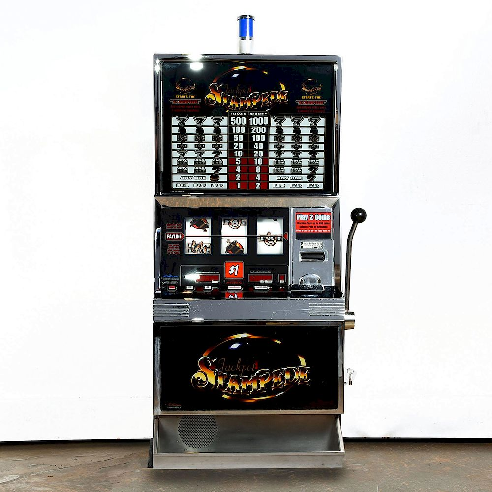 Jackpot Stampede Slot Machine