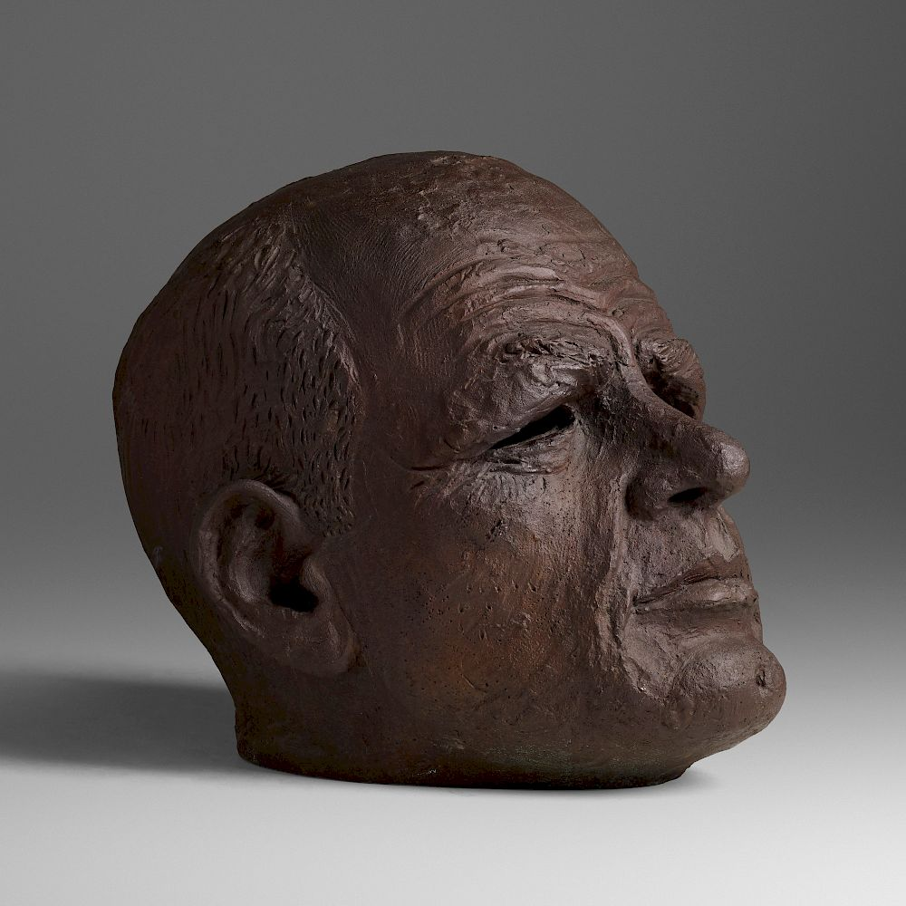 Robert Arneson Big Head Of Jackson For Sale At Auction On 22nd November Bidsquare