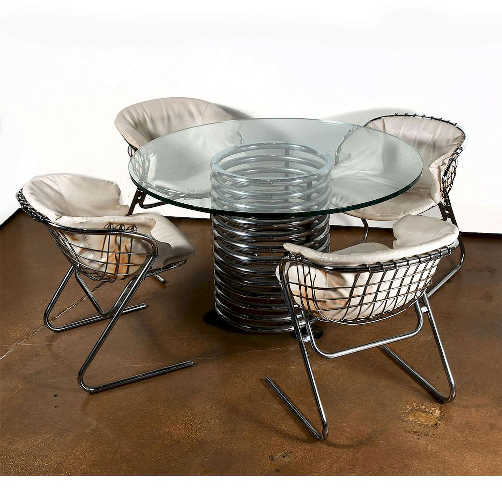 Cheap Glass Dining Table 4 Chairs