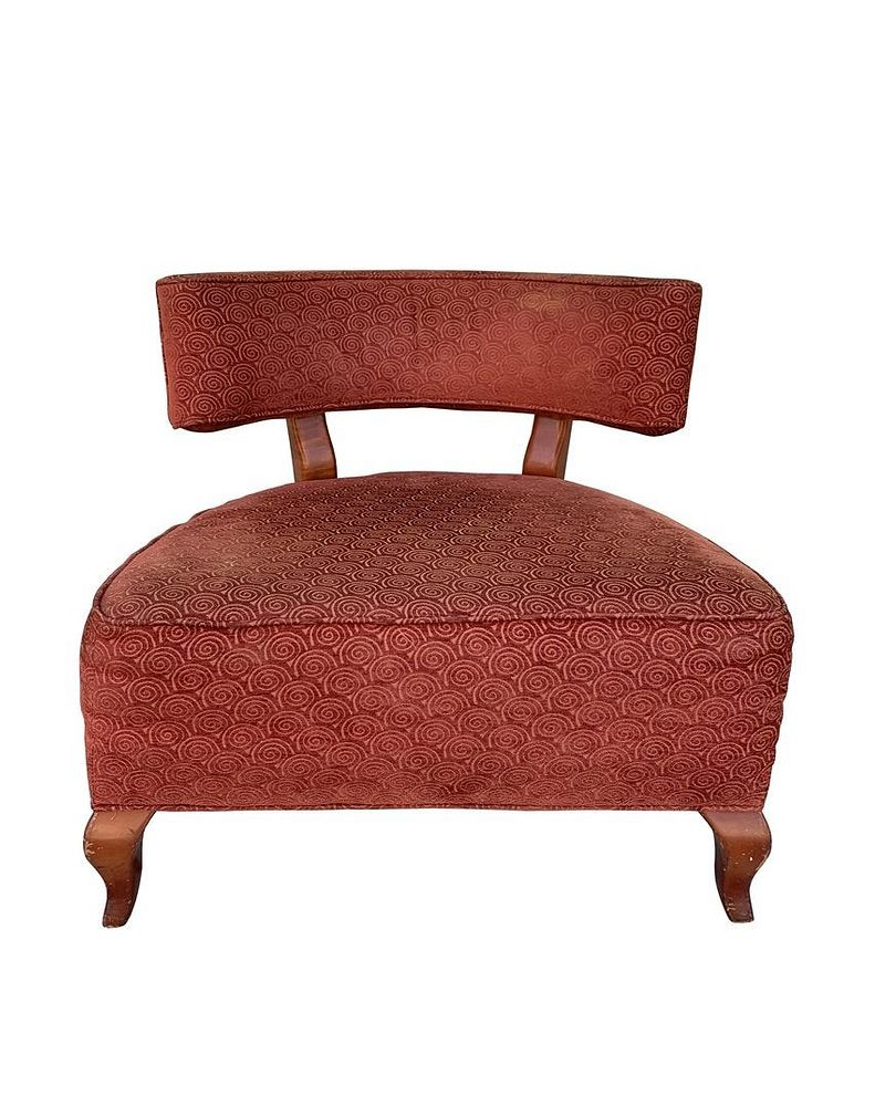 Large Slipper Chair By Thayer Coggin For Sale From 11th January To 25th January Bidsquare