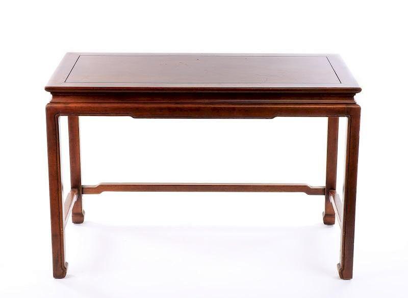 Henredon Chinese Style Mahogany Console Table By Ahlers U0026 Ogletree |  Bidsquare