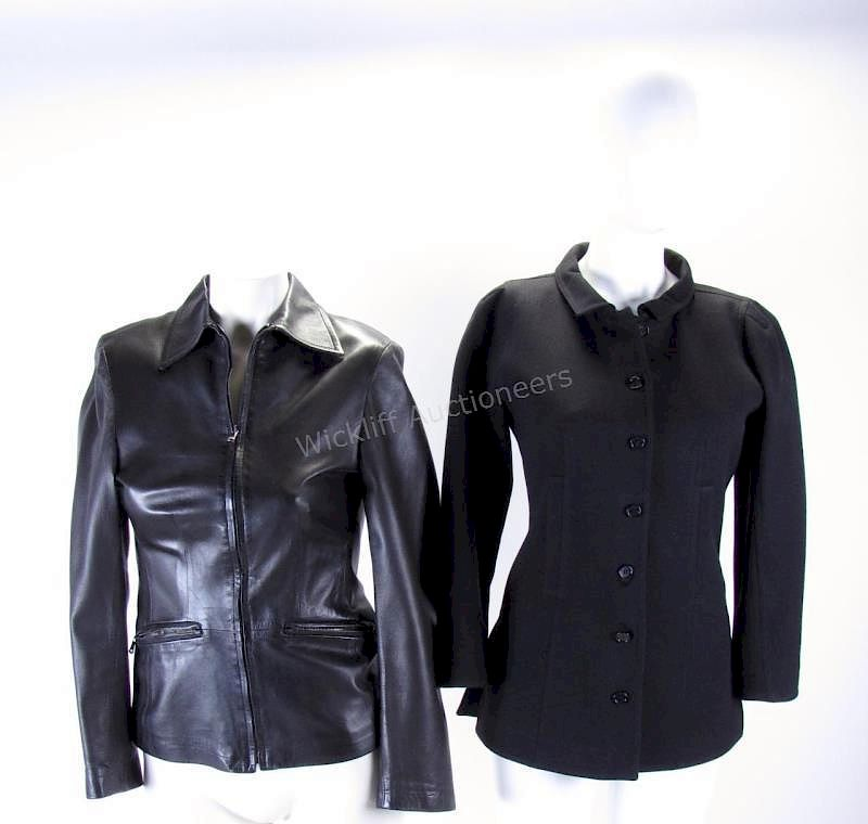 8319eda47a4cc7 Two Design Jackets by Barneys New York and Courreg by Wickliff ...
