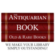 The Antiquarian Book